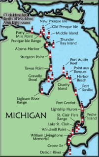lake_huron lighthouse map