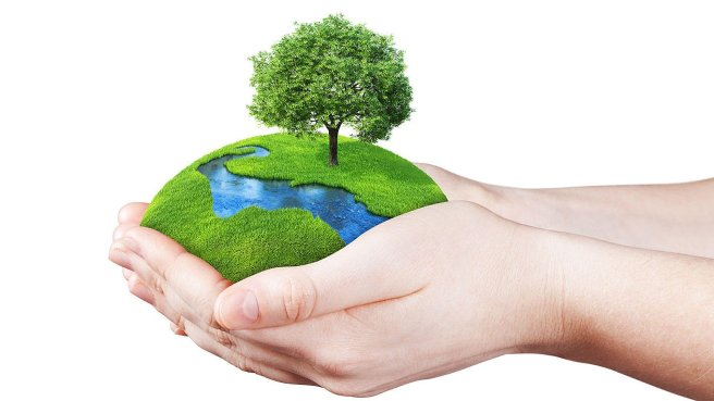 earth-day-hands and earth